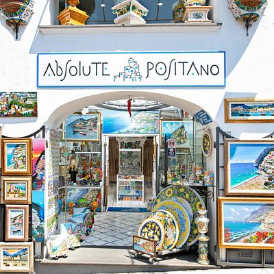 ABSOLUTE POSITANO: L'ingresso The entrance  >>> WORLDWIDE SHIPPING <<<