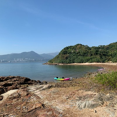 Ma Shi Chau Special Area - kayak arrival point