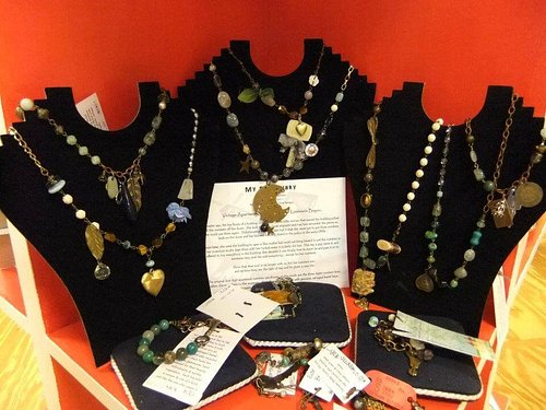 Handcrafted Art at Savvy Gallery by local artisans