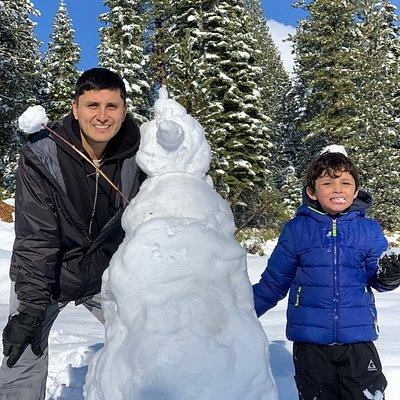 Snowman !! ⛄️⛄️⛄️