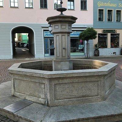 Fontána Brunnen Markt