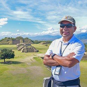 Tour guide René Cabrera Arroyo