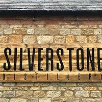 Silverstone Distillery entrance sign