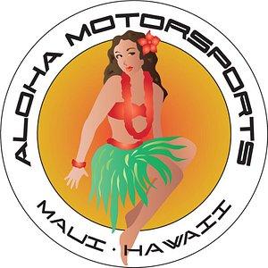 Aloha Motorsport Hula Girl Logo