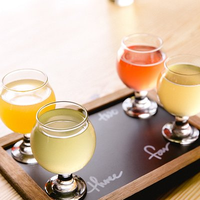 Can't Decide? Try a Flight of Our Ciders!