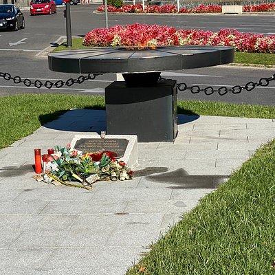 Vista del Memorial