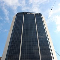 Torre Banco Sabadell (antiguo edificio  Banco  Atlántico)
