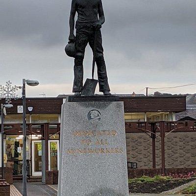 Newtongrange Miners' Memorial