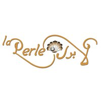La Perle seafood restaurant original logo.