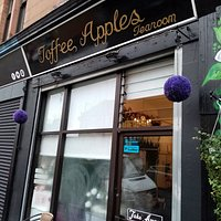 Entrance to the Toffee Apples Cafe!