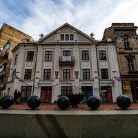 """La Leu"" Bank House, built in 1747"