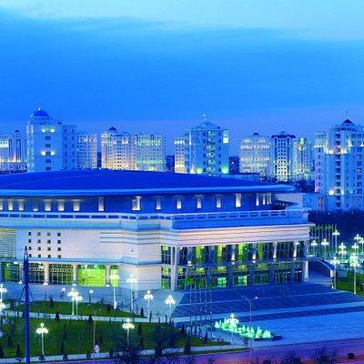 Ashgabat, Ice Palace