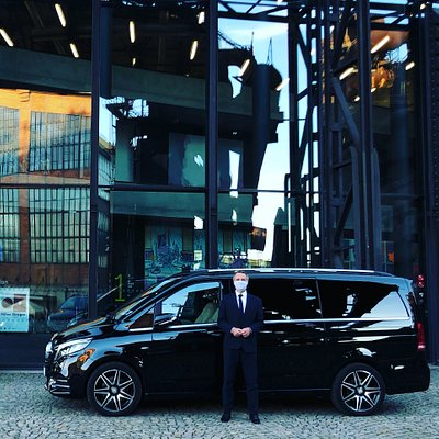 Our driver Ales and luxury Vclass up to 7pax