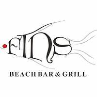 Fins Beach Bar & Grill - Logo