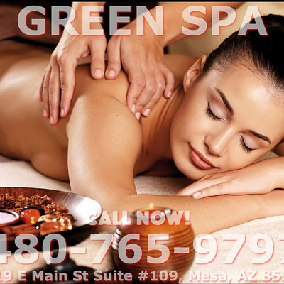 Here at Green Spa, We are a proud Asian Massage Parlor located in Mesa, Arizona! Here we are Cute Young Asian massage therapists that are trained to provide many types of massages in one place right on E Main Street! We like to say that we are the best Asian massage in Town! Our staff are highly trained Young Asian Massage Therapist that are here to help you get to those annoying knots on your body and release them, also to help you relax and relieve stress!