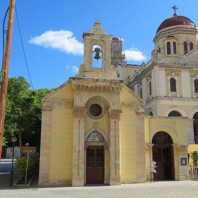 GR: Heraklion; Kirche des Ágios Minás und der Pantanassis