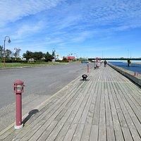 La Promenade des Capitaines, dédiée à de nombreux capitaines expérimentés de Matane