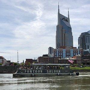 Cruising on the Cumberland downtown Nashville. Public Cruise