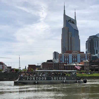 Cruising on the Cumberland downtown Nashville. Public Cruise