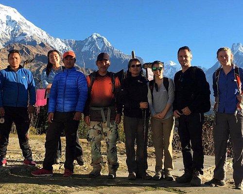 Family Trekking with children in Nepal. Nepal Family Holidays.