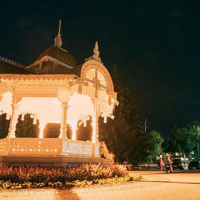 Під час революції 1905 – 1907 рр. Альтанку кілька разів підпалювали, у 1913 р. її було відбудовано.