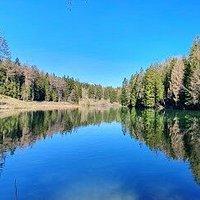 Lac des Miriouges à Crans-Montana (canton du Valais)