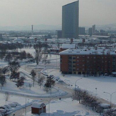 Vista Parco con la neve
