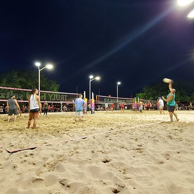3 Olympic Size Beach Volleyball Courts