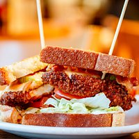 Like hot? We've got hot with our incredible Hot Chicken PBLT. Pimento cheese, bacon, lettuce, tomato, pickles, and Texas toast!