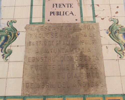 Font pública de la travessera de Gràcia