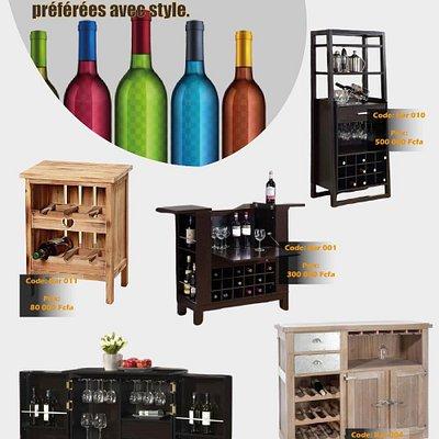 We do Custom Wine Holders Designs..