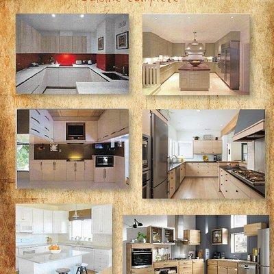 We do Custom kitchen Designs..