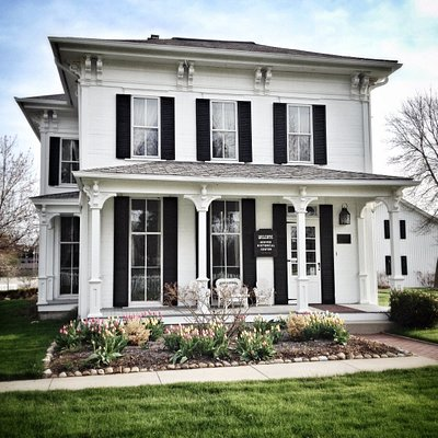 """Located in the boyhood home of William H. """"Boss"""" Hoover, the HHC preserves and interprets the history and legacy of The Hoover Company and Hoover family."""
