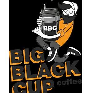 BIG BLACK CUP coffee
