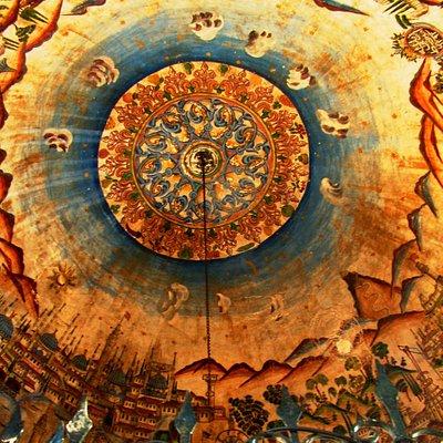 Merzifon Kara Mustafa Paşa Şadırvan Tavan Minyatürleri