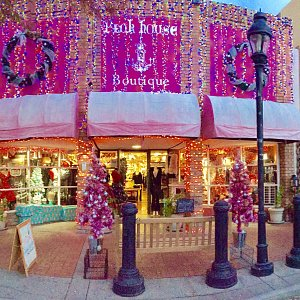 Pink House Boutique holiday shopping destination