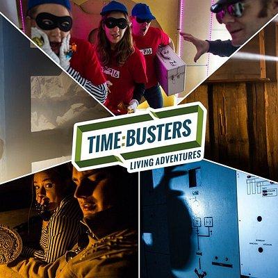 Timebusters Indoor Missionen, Bergwerk, Tresor, Western Jailbreak, Kontrollraum, Montezumas Grab