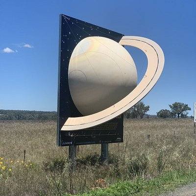 Saturn on the road into Coonabarabran from Narrabri