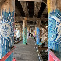 Great artwork under Canning Bridge