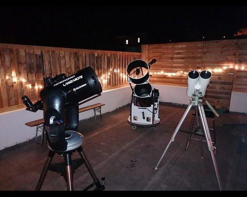 Una noche inolvidable de la mano de Gustavo! Hemos visto los planetas Saturno jupiter y la luna fue verdaderamente impresionante!