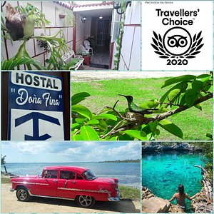 Hostal Doña Fina & Taxi TurismoPorCuba. Trabajamos para que vuestra estancia en cuba sea placentera.