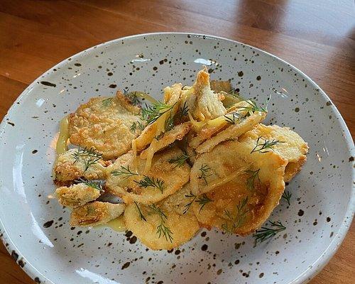 artichoke fritto misto for lunch