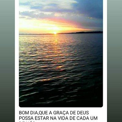 Todo fim de tarde é sempre assim,praia do Gavião,Araruama RJ.