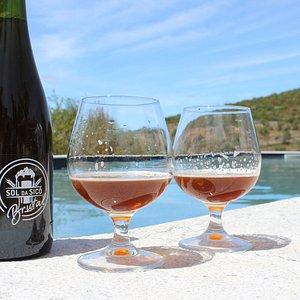 Relaxar com boa cerveja e uma vista maravilhosa...