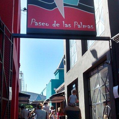 Paseo De Las Palmas: Localidad de Tigre, Pcia. de Bs.As- Argentina 2020.
