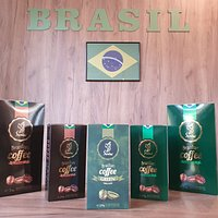 "SAMBA COFFEE ""The real taste of Brazilian Coffee""... Options for sale only at Samba-Brazilian Coffee Shops!!!"