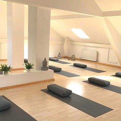 Studioräumlichkeiten der Yogagalerie