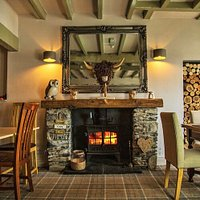Log Burner Interior