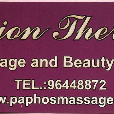 FUSION THERAPY  massage salon Paphos