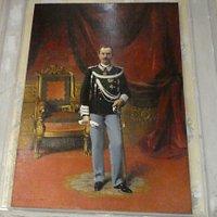 King Vittorio Emmanuele III in 1901